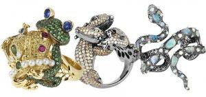 В новой ювелирной коллекции Wendy Yue поселился целый драгоценный зоопарк