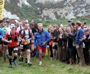 Кейт Мидлтон и принц Уильям посетили марафонский забег в Северном Уэльсе