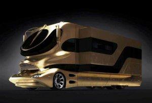 Люкс-автомобиль EleMMent Palazzo Gold – «золотой» дом для состоятельных путешественников