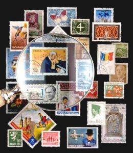 Почтовые марки для миллионеров