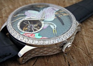 Часы фирмы Jaeger-LeCoultre для настоящих ценителей искусства