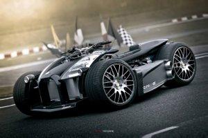 Роскошный гибрид гоночного автомобиля и квадроцикла с мотором от Ferrari стоит $ 250.000