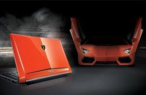 Роскошный ноутбук от Lamborghini