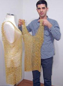 Золотой наряд обойдется модницам в $140.000