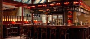 Роскошный ресторан Merchants Tavern в лондонском районе Шордич