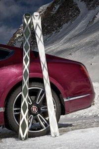 Лыжи Zai стоимостью $10.850: скорость и роскошь Bentley
