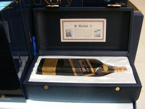 В честь «Синей Лошади» выпустили лимитированную серию виски Johnnie Walker Blue Label Zodiac Year of the Horse Scotch Whisky