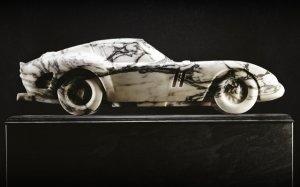 Ferrari 250 GTO теперь высечен из мрамора