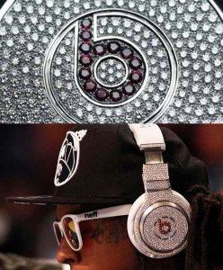 Драгоценные наушники от рэп-бренда Beats by Dr Dre $1.000.000