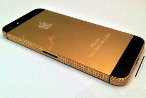 iPhone 5 в виде золотого слитка с алмазными узорами за $1.000.000 станет символом дорогого вкуса