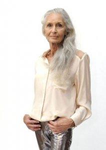 Старейшая фотомодель в мире Дафна Селф
