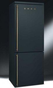 Холодильник SMEG в форме золотого слитка можно купить за $2.800