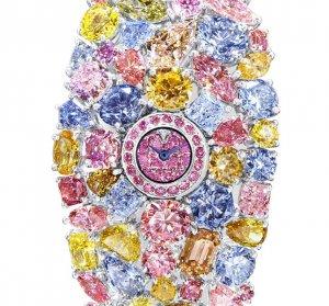 Бриллиантовую радугу роскошных часов Graff Hallucination оценили в $55.000.000