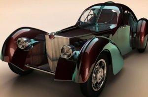 Дизайнерская модель Bugatti Type 57SC Atlantic 1936 года стоит более $30.000.000
