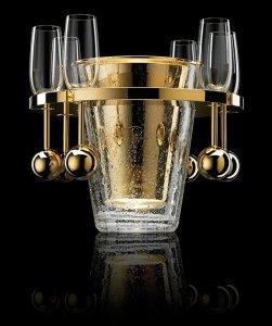 В роскошном ведерке для льда от Aston Martin за $41.500 любой напиток станет эксклюзивным
