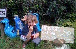 Самый маленький бизнесмен Великобритании Генри Паттерсон