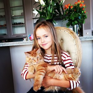 Fashion-индустрия покорена 8-летней моделью из России