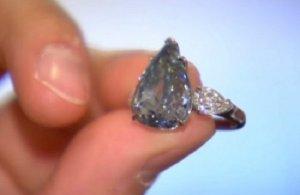 На майском аукционе Кристис засверкают грани самого большого бриллианта цвета неба