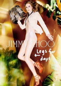 Николь Кидман топлес для бренда Jimmy Choo