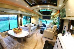В роскошном отеле на колесах можно переночевать за $13.000