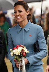 Плотный «новозеландский» график герцогов не повлиял на изысканный стиль Кейт Миддлтон