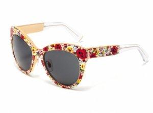 Все цветы лета в очках от Dolce & Gabbana