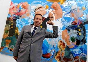 Миллиардер отдал за скульптуру моряка Попая $28.200.000