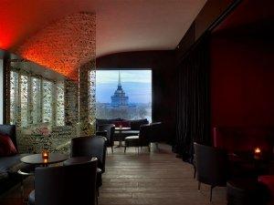 Роскошный отель W St. Petersburg над крышами Северной Пальмиры