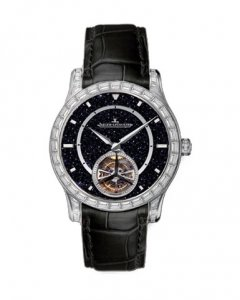 Grande Seconde Tourbillon Aventurine: часы с космической точностью