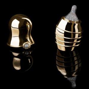 Золотая бутылочка за $272.000 для кормления маленьких «буржуев»