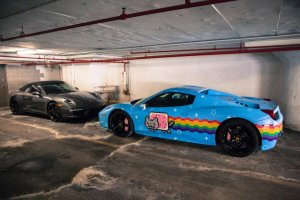 Ferrari в духе аниме продают по цене $350.000