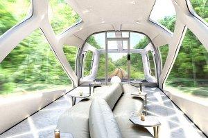 Роскошный поезд для путешествий по Японским островам «Cruise Train»