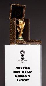 Футбольные кубки ЧМ-2014 поместят в роскошные футляры от Louis Vuitton