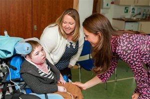 Герцогиня Кэтрин поддерживает детские хосписы