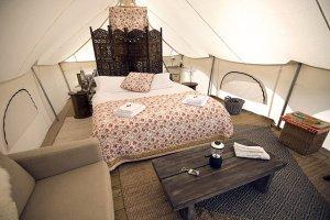 Отдых в палатках тоже может быть роскошным