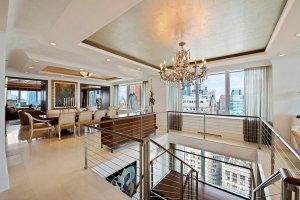 Роскошный пентхаус в центре Манхэттена оценили в $118.500.000