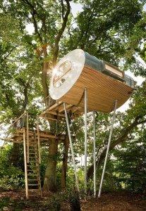 Дизайнеры из студии Baumraum строят шалаши на дереве