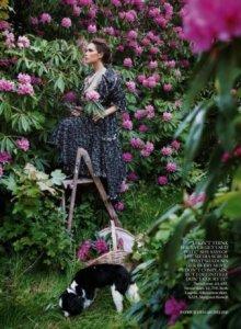 «Деревенская» фотосессия Виктории Бекхэм