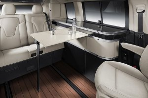 Роскошные путешествия в доме на колесах Marco Polo от Mercedes-Benz