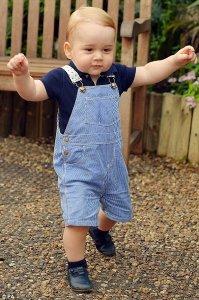 Скромные именины: принца Джорджа воспитывают в строгости и любви