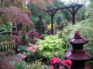 Уникальный частный английский парк Four Seasons Garden