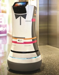 В калифорнийских гостиницах обычный персонал заменят роботами