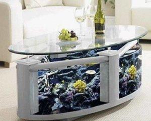 Океанский аквариум скоро займет место кухонного стола