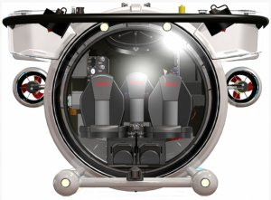 В царство Нептуна на самой легкой подводной лодке Super Yacht Sub 3