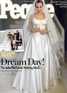 Раскрыта тайна свадебного наряда Анджелины Джоли