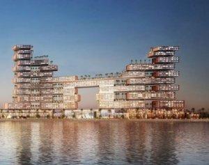 Новый роскошный отель Дубая похож на причудливую головоломку