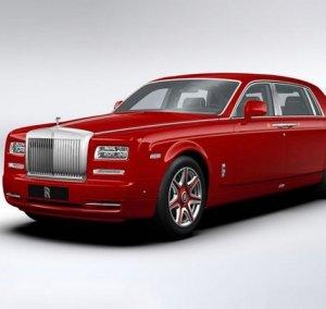 Красные Rolls-Royce Phantom станут визитной карточкой роскошной гостиницы