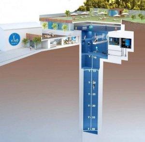 Посетителей итальянской гостиницы ждет 40-метровый бассейн-лабиринт
