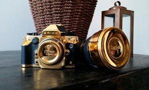Золотой комплект фотографа от Brikk для роскошной фотосессии