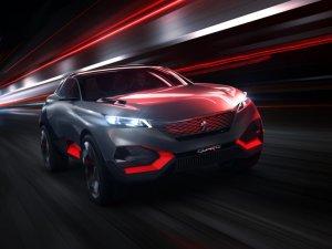 Peugeot провел презентацию «кроссовера будущего»